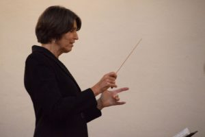 Nancy Holland Conducting